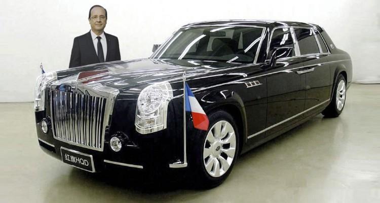 Véhicule présidentiel : Hollande va rouler chinois pour ses derniers mandats