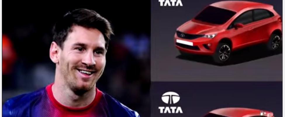 Lionel Messi devient ambassadeur de TATA Motors