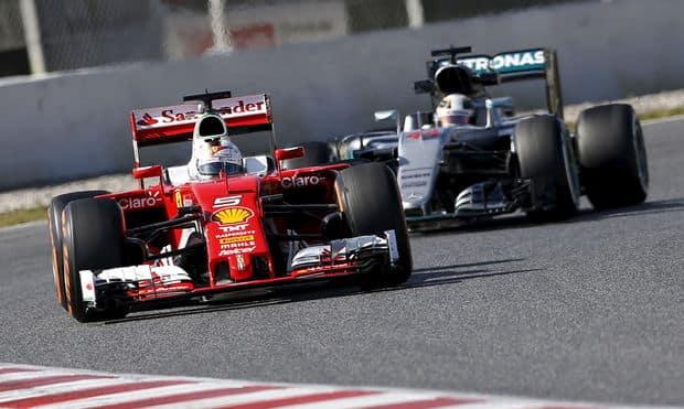 Formule 1 : Ferrari veut prendre le dessus sur Mercedes en 2016