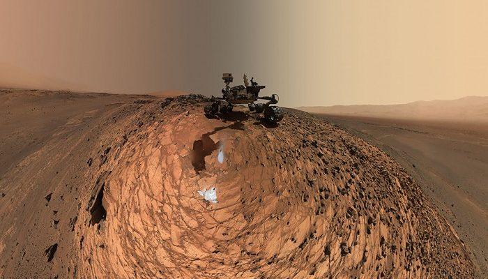 Le robot Curiosity nous fait découvrir Mars à 360°