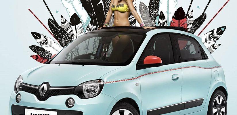 Renault et Hipanema s'associent pour une Twingo aux couleurs du Brésil
