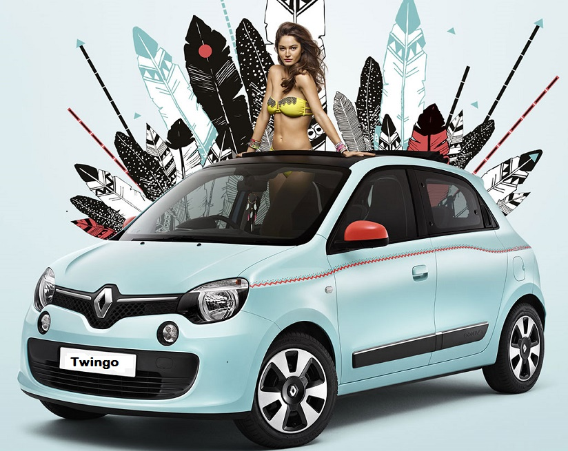 renault et hipanema s associent pour une twingo aux couleurs du br sil voiture valk. Black Bedroom Furniture Sets. Home Design Ideas