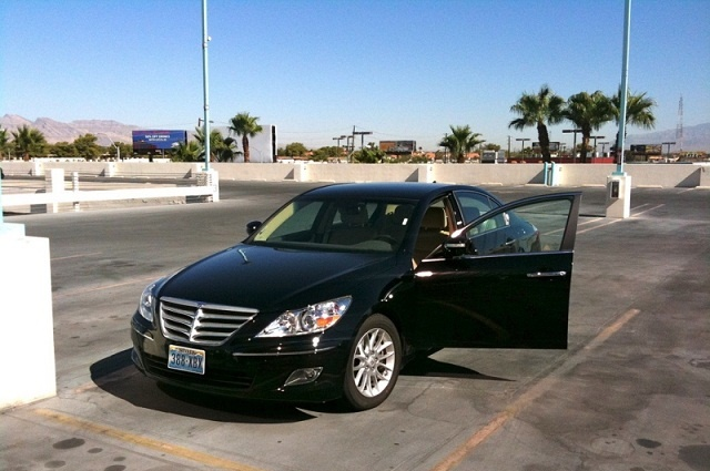 Hyundai Genesis Rental Car