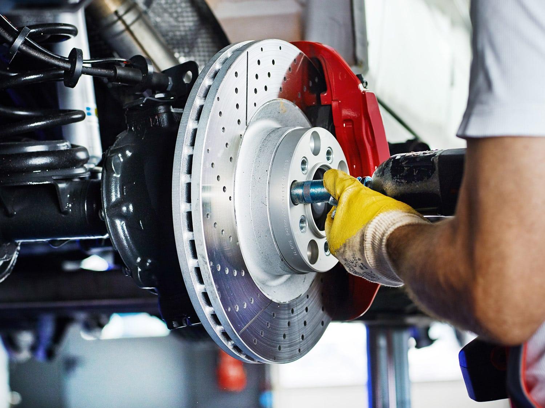 Réparation dans un garage certifié