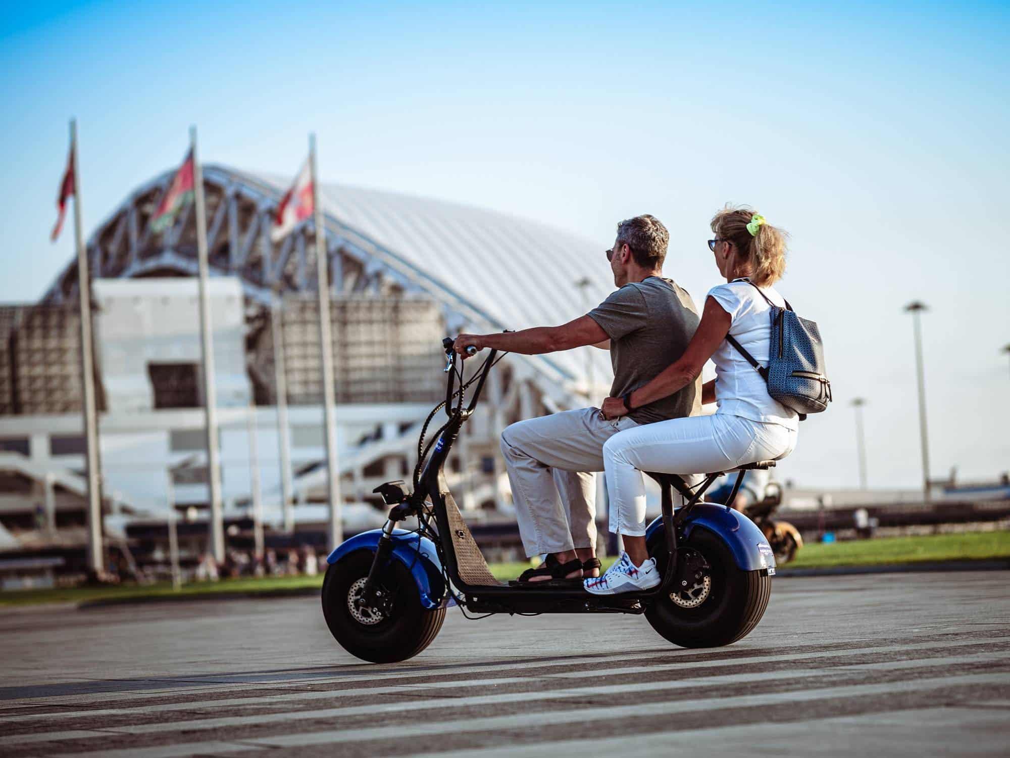 scooter électrique 125cc conduite écologique