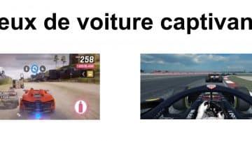 jeux voiture captivant