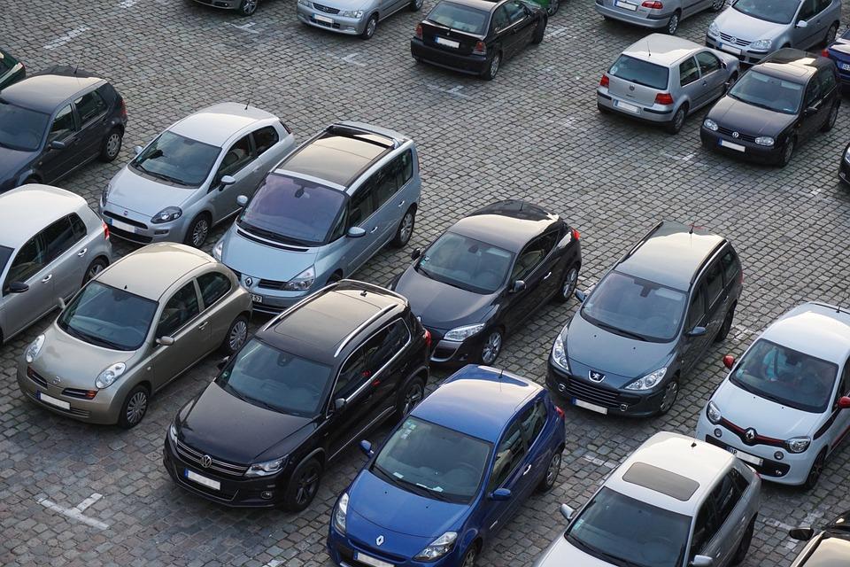 parking pavé