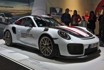 Porsche 911 GT2 illustrant l'article sur les voitures Audi d'occasion